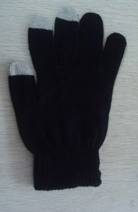 3 Fingers Microfiber Touchscreen Glove for Smart Mobile pictures & photos