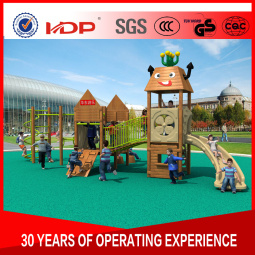 2017 Children Kids Outdoor/Indoor Playground with TUV-GS\Ce\En 1176\SGS\Ohsas18001\ISO9001\ISO14001 Certificate Wooden Series HD16-168A pictures & photos
