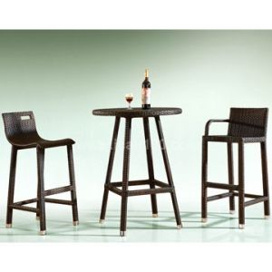 Wicker Bar Set Outdoor Furniture (BF-1008) pictures & photos