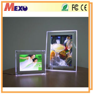 LED Picture Photo Frame Acrylic Square Picture Frame pictures & photos