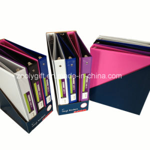 Combined Color PVC Ring Binder File Folder with Display Box pictures & photos