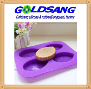 Creative Soap Mould DIY Silicone Cake Mold Leaf-Shape Mold pictures & photos