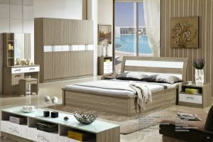 Modern Design Living Bedroom Furniture in Pneumatic Bed