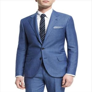 2016 Factory Direct Sales Blue Coat Pant Men Suit pictures & photos