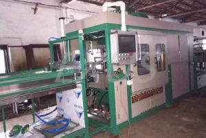 High Speed Plastic Vacuum Forming Machine by PLC Control pictures & photos