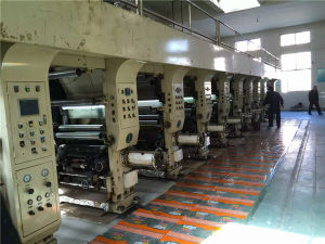 High Speed Computer Control of Used Gravure Printing Machine for Plastic Film pictures & photos