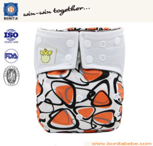 Reusable Eco-Friendly Soft Breathable Washable Baby Diaper pictures & photos