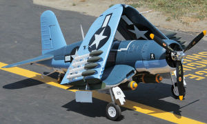 Folding Wings 12CH F4u Corsair Fighter Plane pictures & photos