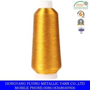 Fluresent Gold Color Metallic Yarn in Dongyang City