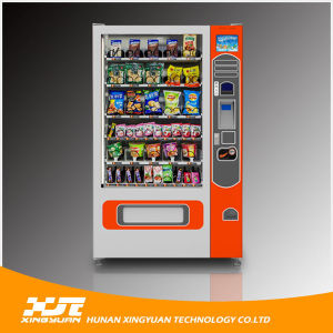 Large Automatic Snacks Vending Machine with High Quality pictures & photos