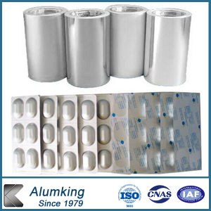 One Side Bright Aluminum Foil for Pharmacy pictures & photos