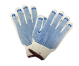 Rough Working Glove with Rubber or Dots pictures & photos