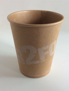 Drinking Paper Cup with Custom Logo Printing pictures & photos
