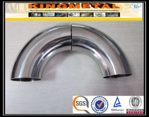 201/304/316L Sanitary Stainless Steel Food Grade Elbow pictures & photos