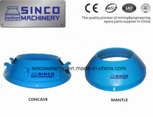 Manganese Cone Crusher Parts Concave and Mantle