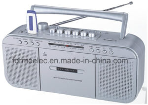 Portable Cassette Recorder Cassette Player with Radio FM Am pictures & photos