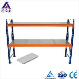 Warehouse Metal Shelf with Galvanized Panel pictures & photos