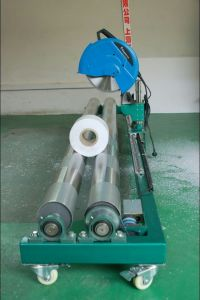 Max 5m Width Electrical Mesh Banner Roll Cutting Machine pictures & photos