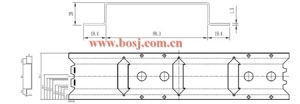 Adjustable Opposed Blades OBD Air Conditioning Volume Damper Roll Forming Production Machine Vietnam pictures & photos