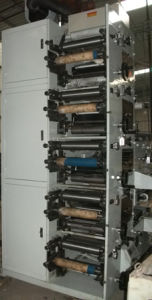 Flexo Label Printing Machine with Die Cutting and Slitting 320/480 pictures & photos