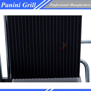Commercial restaurant Sandwich Press Panini Grill Double Plate Food Machiery pictures & photos