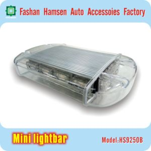 High-Intensity LED Warning Mini Lightbar for Police Fire Light Emergency Strobe Light