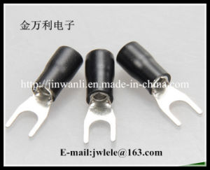 Sv Pre- Insulated Spade Electrical Terminal Connector Sv1.25-3 pictures & photos
