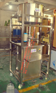 Semi-Auto Salad Filling Line with Mixing Capping Machines pictures & photos
