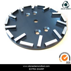 250mm 20 Seg Diamond Floor Grinding Plate pictures & photos