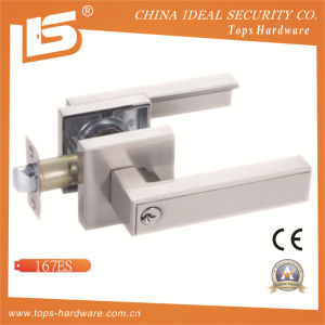 High Quality Zinc Alloy Door Handle Lock-167es pictures & photos