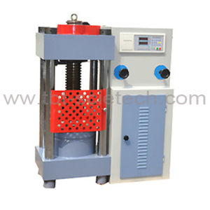 Compression Testing Machine with PC Control& Auto Loading pictures & photos