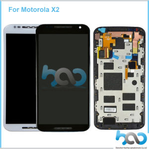 Mobile Phone Replacement LCD for Moto X2 Touch Screen Assembly