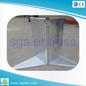 TUV Ce SGS Concert Barrier, Concert Barricade TUV Folding, Folding Stage Barrier pictures & photos