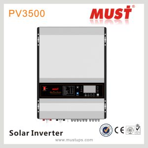 Must 3HP 24V 6kw Pure Sine Wave Generator Inverter Price Solar Pump Inverter pictures & photos