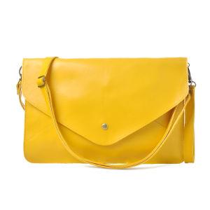 Classic Women Envelop Bag PU Clutch Handbag Wzx1037 pictures & photos