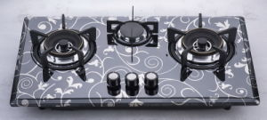 Three Burner Gas Stove (SZ-LW-123) pictures & photos
