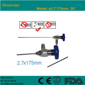 Sinuscope 2.7*175mm 30 Degree Storz Compatible-Fanny pictures & photos