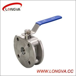 Food Grade S. S. Manual Wafer Type Ball Valve pictures & photos