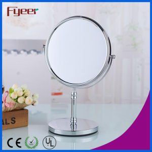 Fyeer Hot Sale Double Side Turnover Bathroom Magnifying Cosmetic Mirror pictures & photos