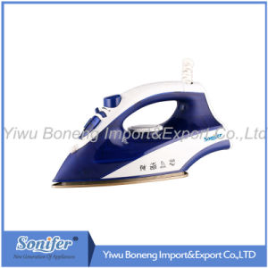 Travelling Steam Iron Ei-8817 Electric Iron with Ceramic Soleplate (Orange) pictures & photos