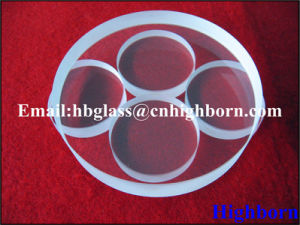 High Quality Transparent Thick Silica Quartz Glass Slide pictures & photos