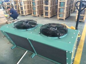 China Hot Sale V Type Vertical Air Cooled Condenser for Condensing Unit pictures & photos