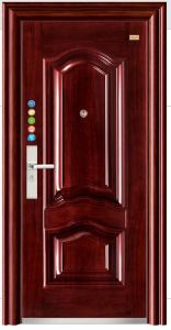 Steel Door Single Door Leaf Bedroom Door Entry (FD-1022) pictures & photos