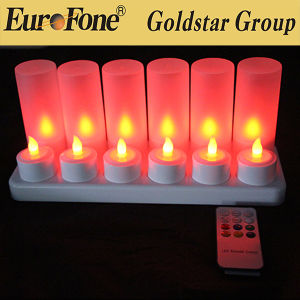 Useful Rechargeable LED Candle Light for Party pictures & photos