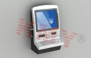 Super Slim Wall-Mounted Airport Used Kiosk pictures & photos