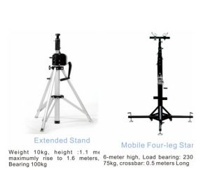 3m Height Iron TV Stand Stage Light Equipment pictures & photos