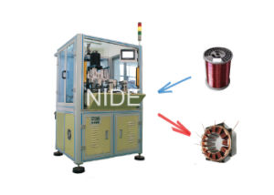 Automatic BLDC Needle Inslot Coil Winding Machine pictures & photos