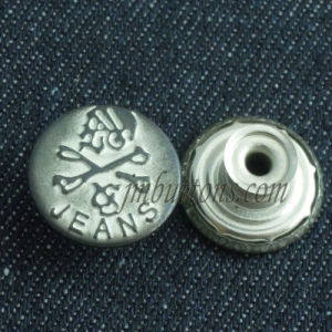 Plating Shake Jeans Wear Button for Garment pictures & photos