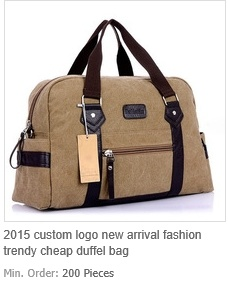 Fashion Trendy Cheap Duffel Bag Travel Bag
