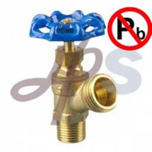 Lead Free Brass Boiler Drain with Steel Wheel (HBD01A) pictures & photos